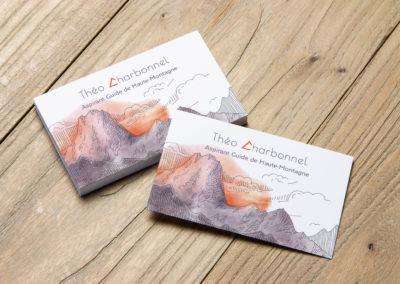 cartes de visite grenoble Théo charbonnel