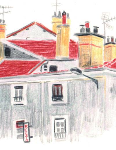 croquis grenoble maisons camille kozlik