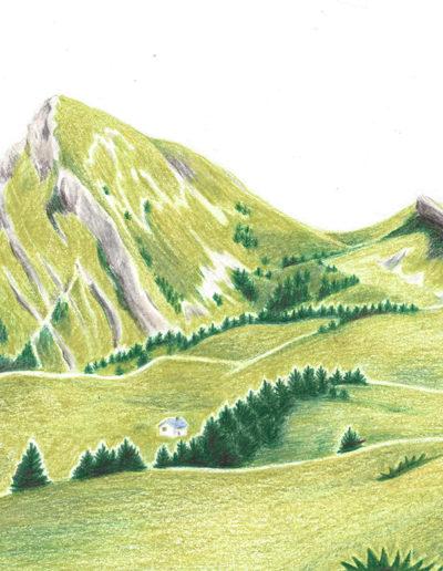 illustration Chartreuse grande sure