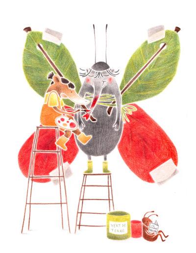 Illustration jeunesse Grenoble