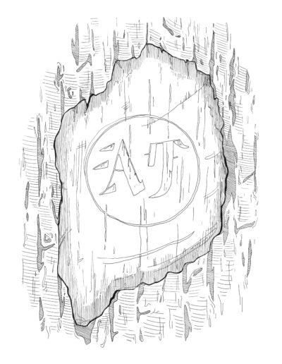 illustration panneau sentier interprétation grenoble