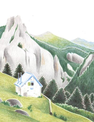 Paysages Pyrénées Montagne