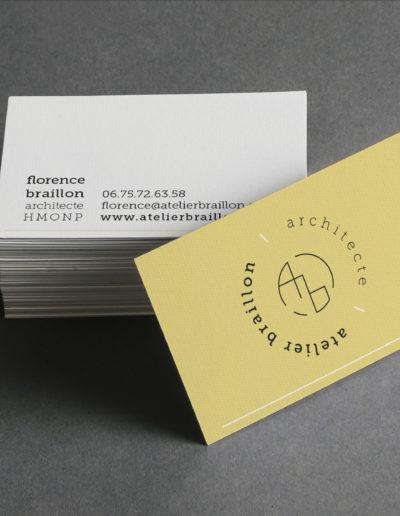 cartes visite architecte lyon